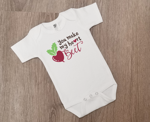 You Make My Heart Beet - One Piece Jumper