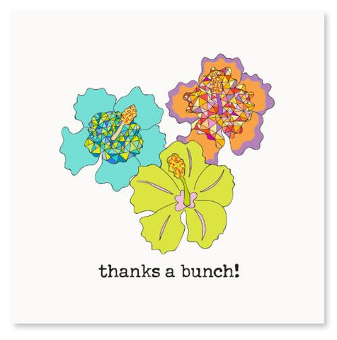 Thanks a bunch! Greeting Card