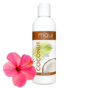 Coconut Body Lotion w/ Avocado Oil, Cucumber & Vit. E, 8 oz