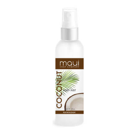 Refreshing Alcohol-Free Coconut Body Mist, 2 oz