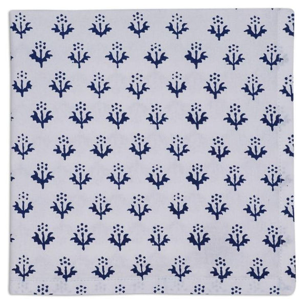 Indigo Print Napkin - Set of 4