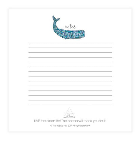 Whale Notes, Notepad