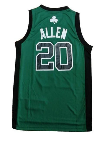 Ray Allen Boston Celtics NBA Adidas Hardwood Classics Jersey Green Black