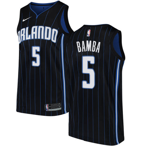 Mohamed Bamba Orlando Magic NBA Nike Statement Jersey