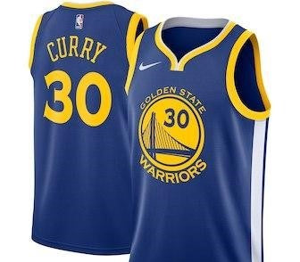 Steph Curry Golden State Warriors NBA Nike Statement Jersey