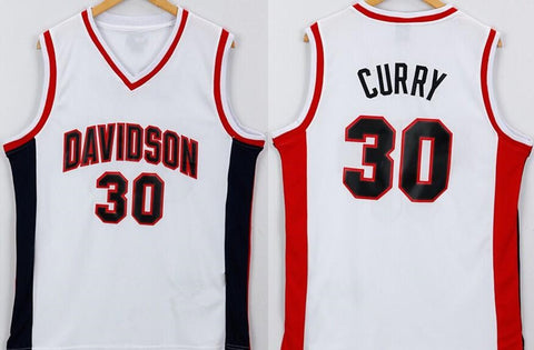 Steph Curry Davidson Wildcats NCAA Jersey