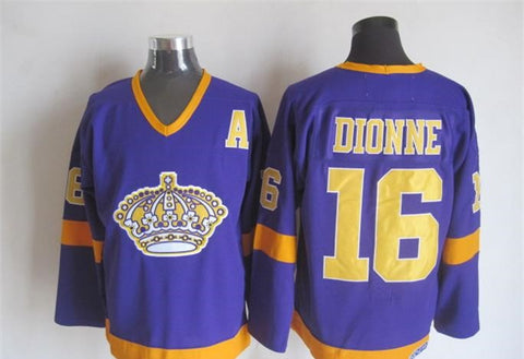 Marcel Dionne Los Angeles Kings NHL CCM Vintage Jersey Purple