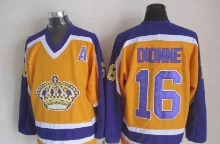 Marcel Dionne Los Angeles Kings NHL CCM Vintage Jersey Third