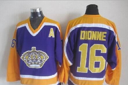 Marcel Dionne Los Angeles Kings NHL CCM Vintage Jersey Fourth