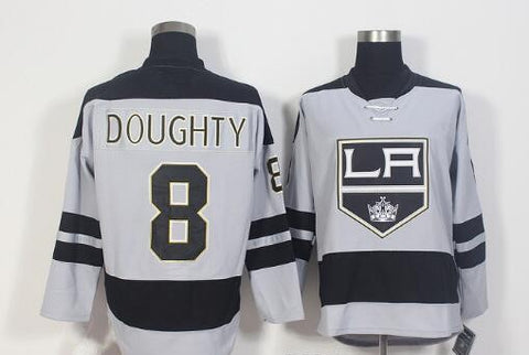 Drew Doughty Los Angeles Kings NHL Adidas Rare Grey Jersey