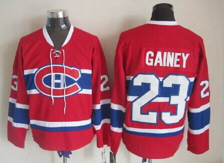 Bob Gainey Montreal Canadiens NHL CCM Vintage Jersey Red