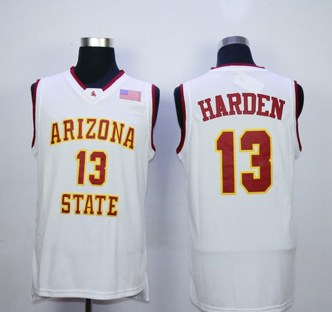 James Harden Arizona State Sun Devils NCAA Adidas Jersey White