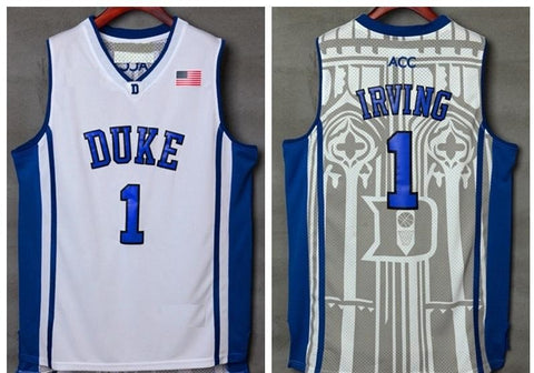 Kyrie Irving Duke Blue Devils NCAA Adidas White