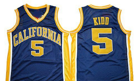 Jason Kidd California Golden Bears NCAA Adidas Blue