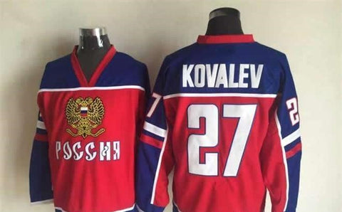 Alexei Kovalev Team Russia International IIHF Olympic Jersey