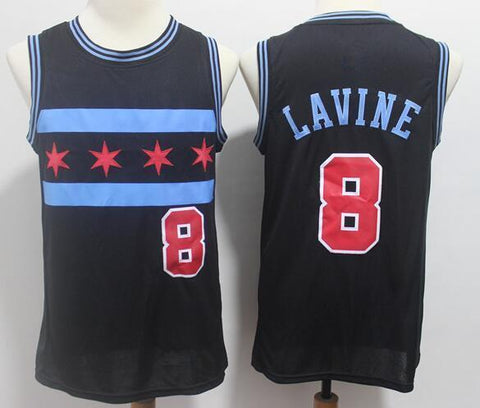 Zach Lavine Chicago Bulls NBA Nike City Jersey