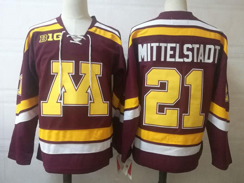 Casey Middlestadt Minnesota Golden Gophers NCAA Jersey