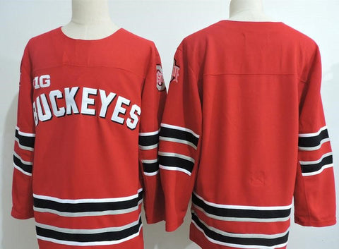 Ohio State Buckeyes NCAA Jersey Red