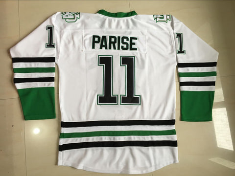 Zach Parise North Dakota Sioux NCAA Jersey White