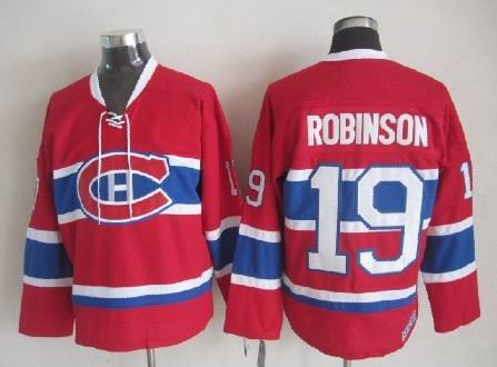 Larry Robinson Montreal Canadiens NHL CCM Vintage Jersey Red