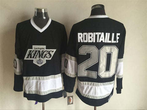 Luc Robitaille Los Angeles Kings NHL CCM Vintage Jersey Black