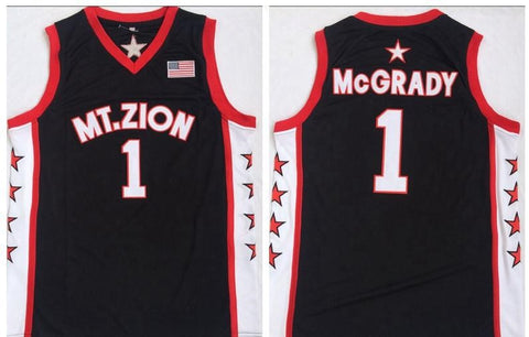 Tracy McGrady Mount Zion College NCAA Jersey