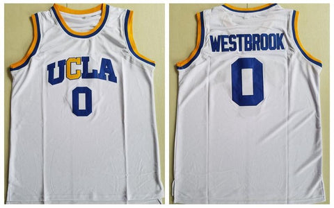 Russell Westbrook UCLA Bruins NCAA Adidas Jersey White
