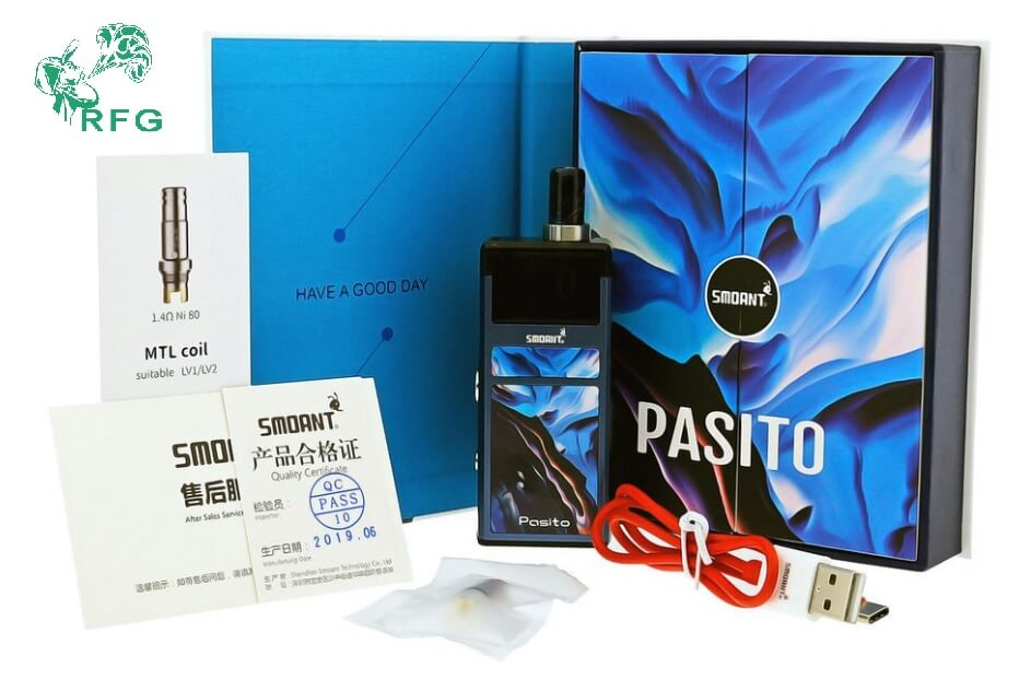 Authentic Smoant Pasito Replacement Coil & RBA