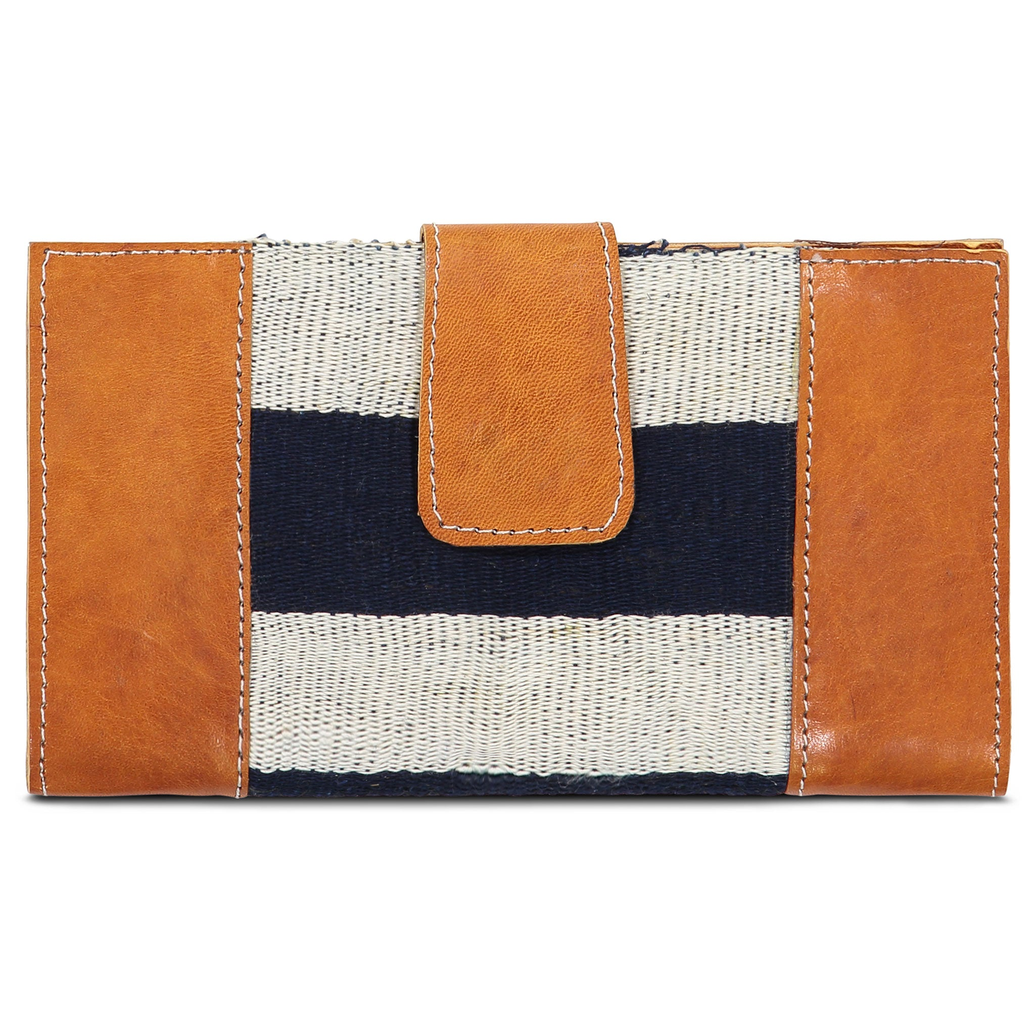 Country Cloth Wallet: Bold Indigo