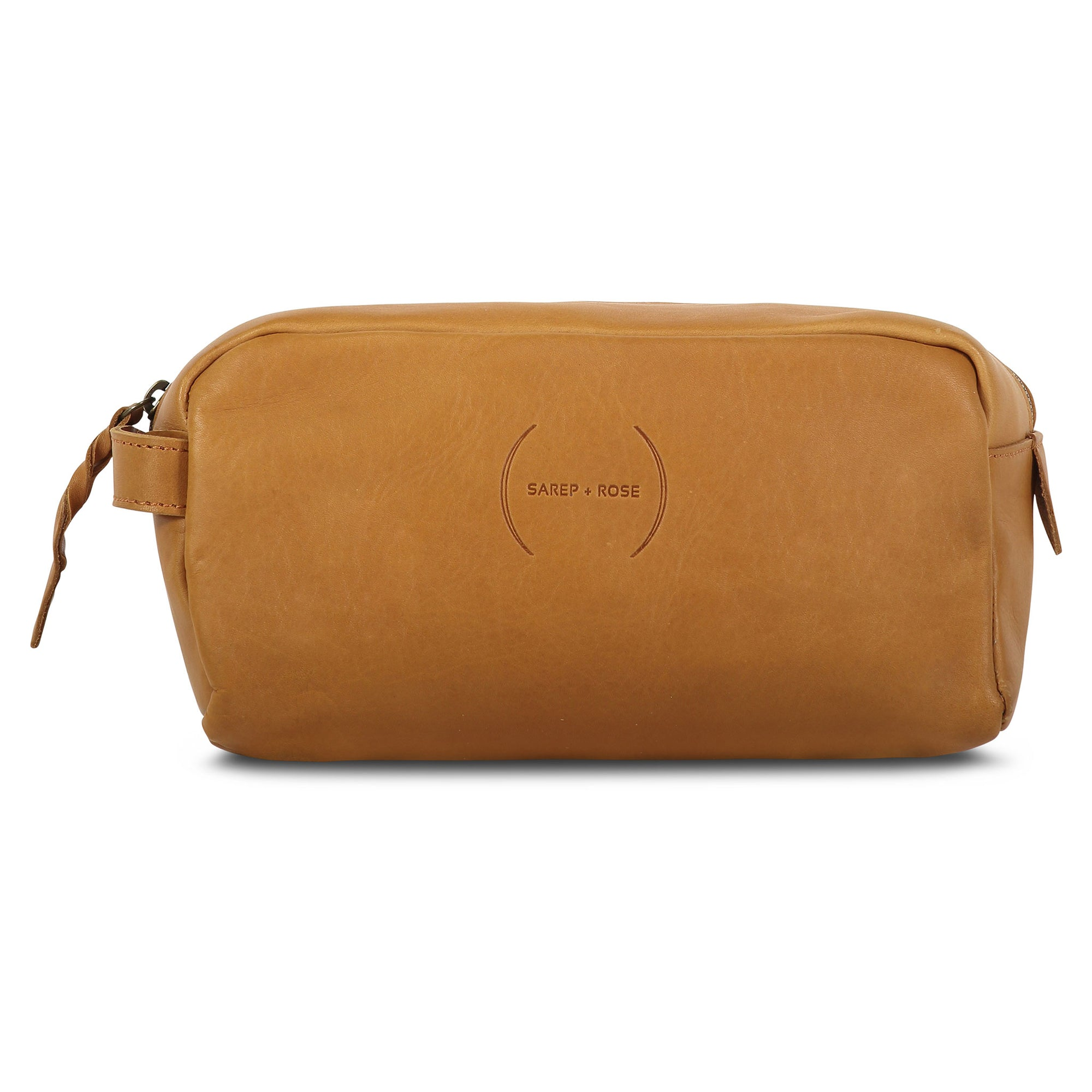 Wash Bag: Golden Brown