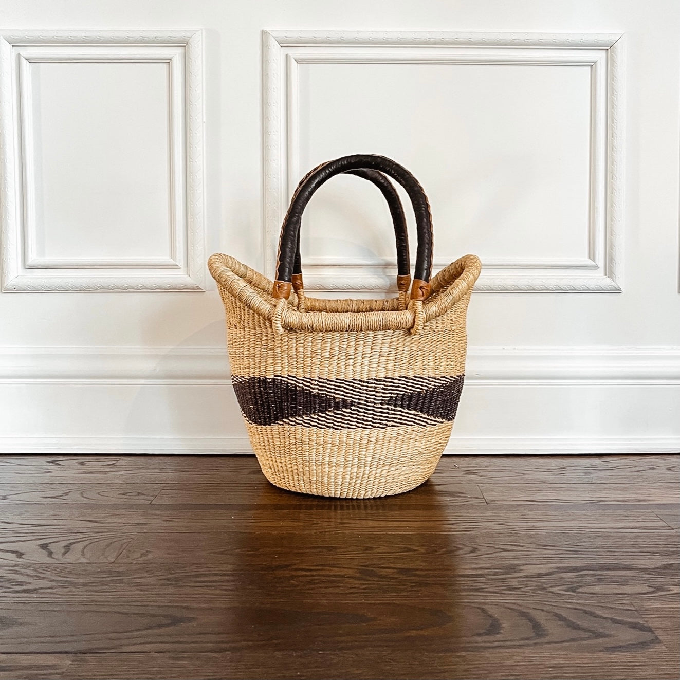 Tote Basket: Black Diamond