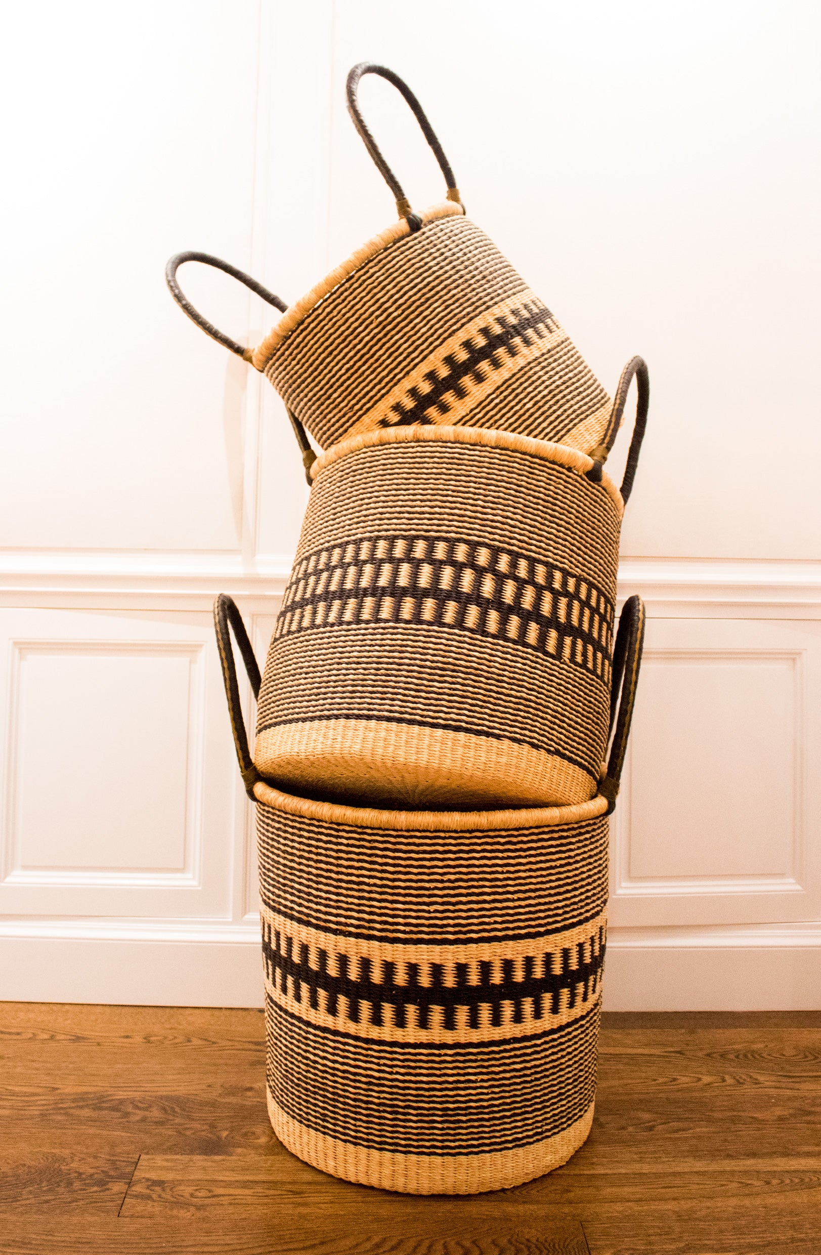 Handmade African Laundry Basket