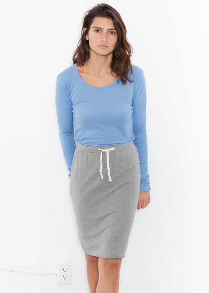 Tencel Jersey Mini in Heather Grey