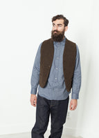 Kobe Vest in Brown
