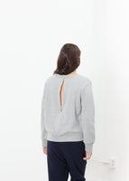 Loopwheeler Sweatshirt in Grey