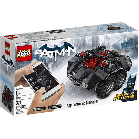 LEGO Super Heroes Batman App-Controlled Batmobile