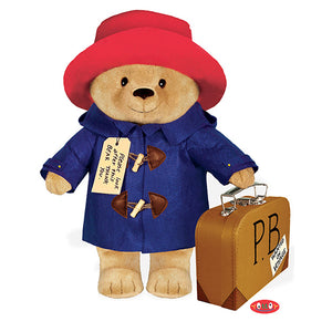 Paddington Bear Classic Soft Toy with Suitcase - 16 Inch