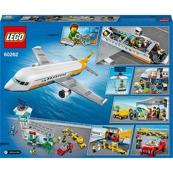 LEGO City Passenger Plane Box