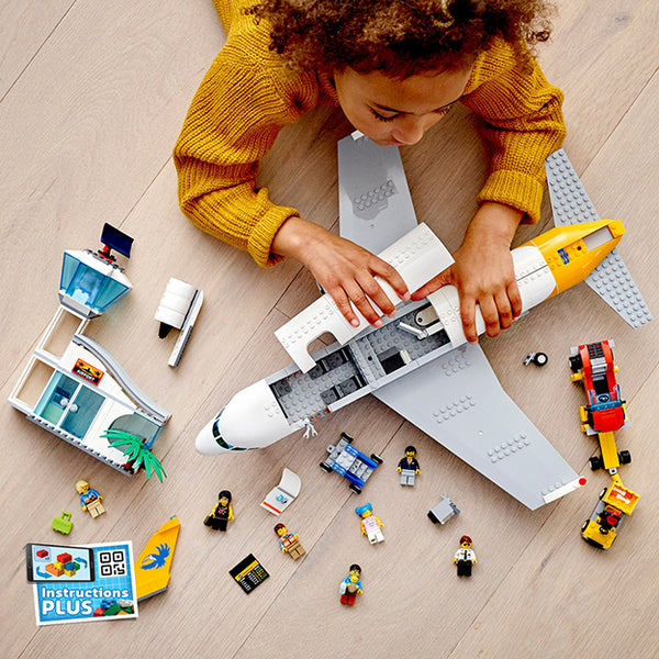 LEGO City Passenger Plane Play