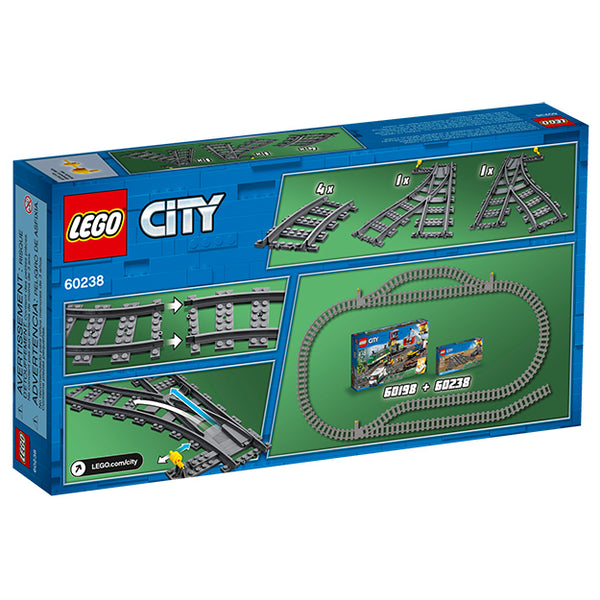 LEGO Train Switch Tracks Box