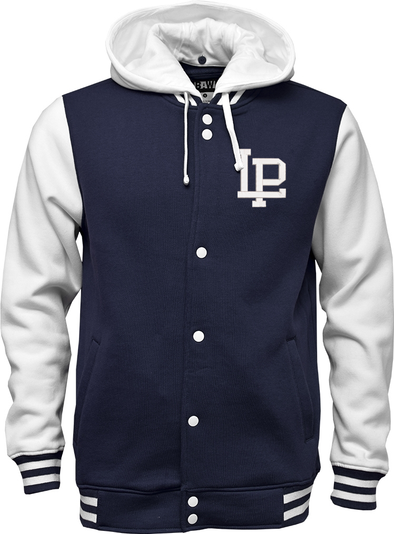 Adult Letterman Hooded Jacket