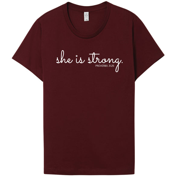 She is Strong - Go-To T-Shirt