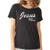 Jesus Since - Rocker Garment-Dyed Distressed T-Shirt