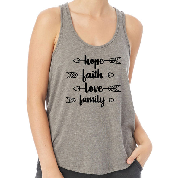 Hope Faith Family - Backstage Vintage Jersey Tank Top