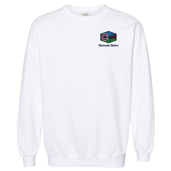 Garment-Dyed Sweatshirt - Colorado Native