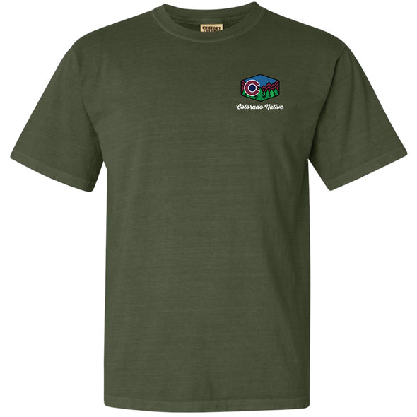 Garment-Dyed Heavyweight T-Shirt - Colorado Native