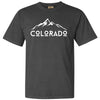 Garment-Dyed Heavyweight T-Shirt - Colorado Mountains