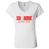 SCHLongmont - Women's Jersey Short Sleeve V-Neck Tee