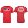God Faith Love - 100% American Made Tri-blend Crew