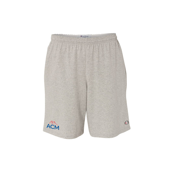 "Champion - Cotton 9"" Jersey Shorts with Pockets"